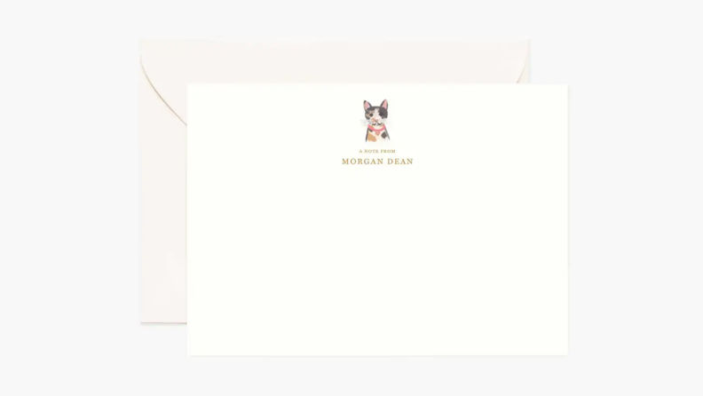 An image of a personalized pet card.