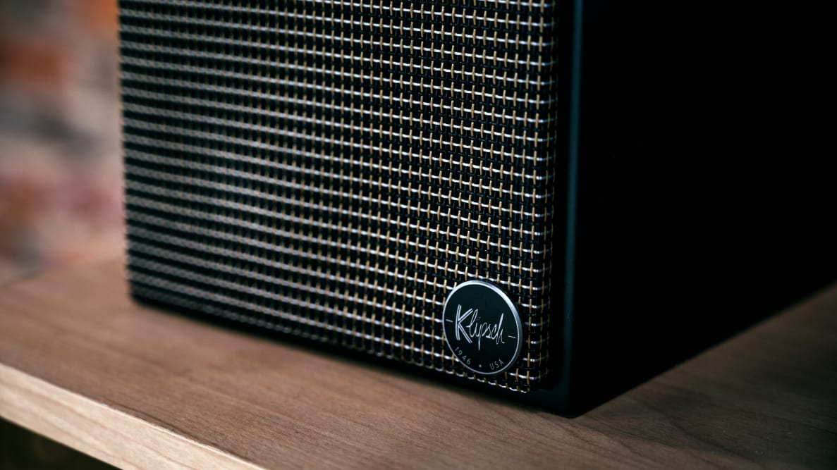 Klipsch The Fives speakers close-up