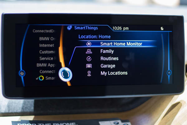 SmartThings App for BMW