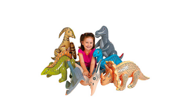 Kids Birthday Party Favors Inflatable Dinosaurs