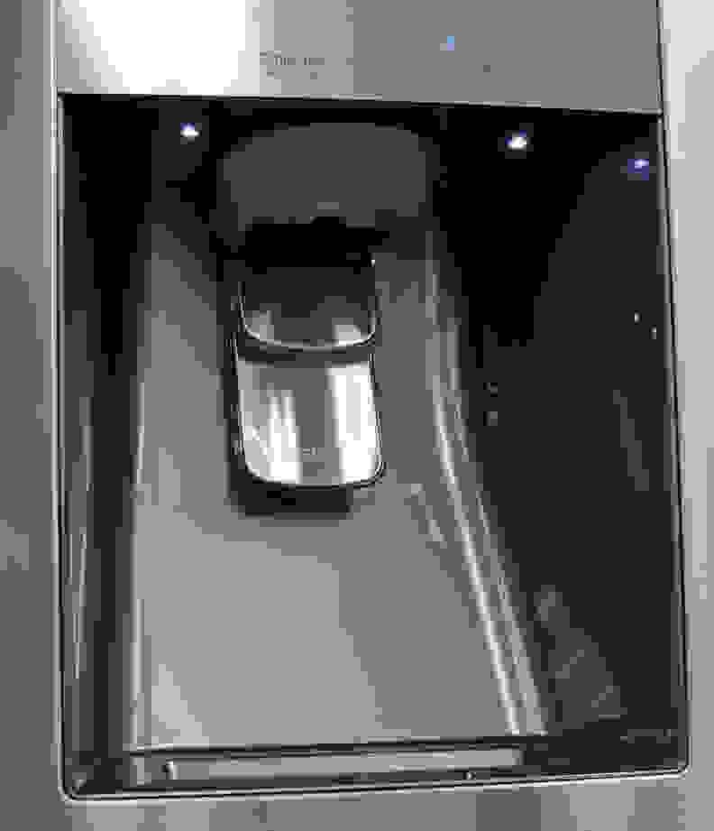 Samsung RF23J9011SR Ice & Water Dispenser