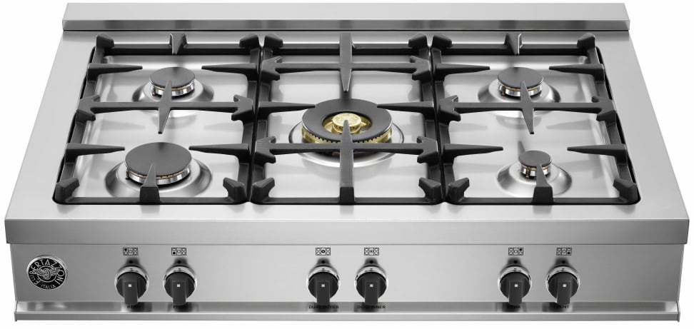 One of Bertazzoni's new cooktops
