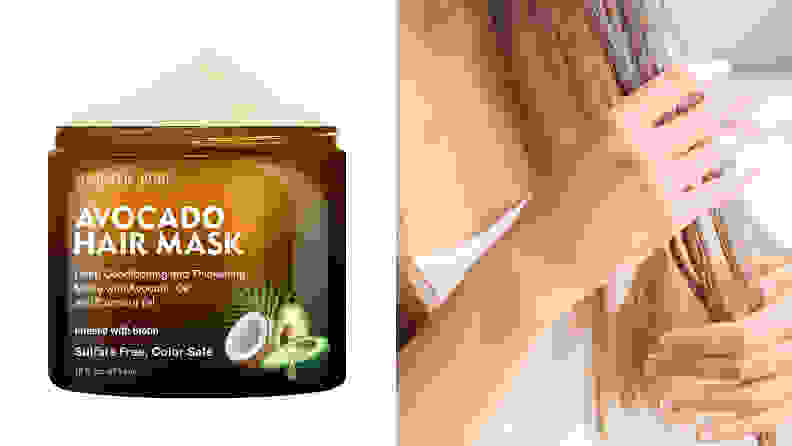 Majestic Pure Avocado Hair Mask