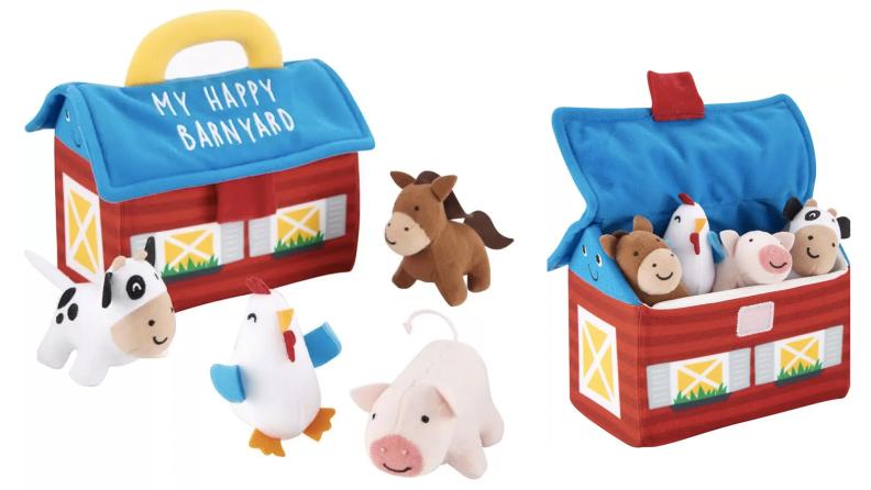 twenty-six barn toys
