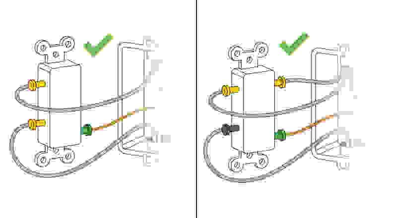 Single-pole versus Two-pole light switch
