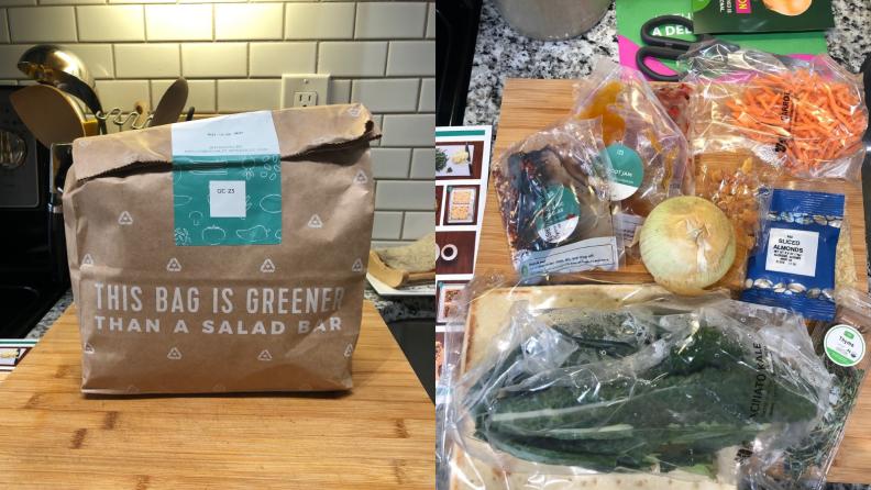 Food in packaging