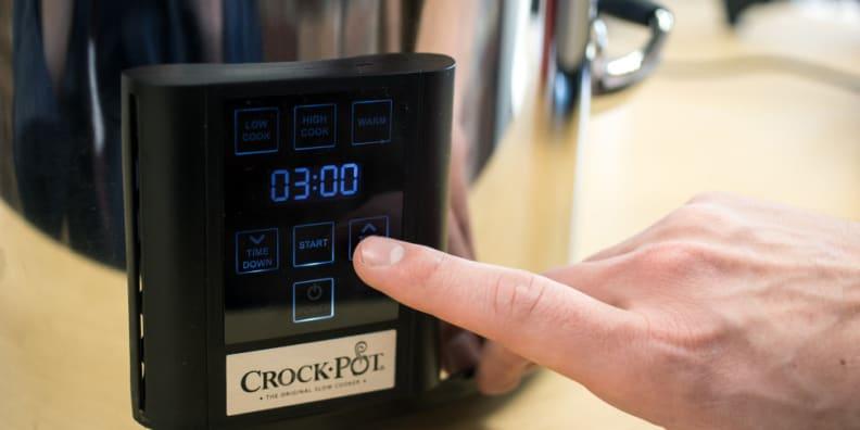 Crock Pot Programmable Touchscreen Slow Cooker