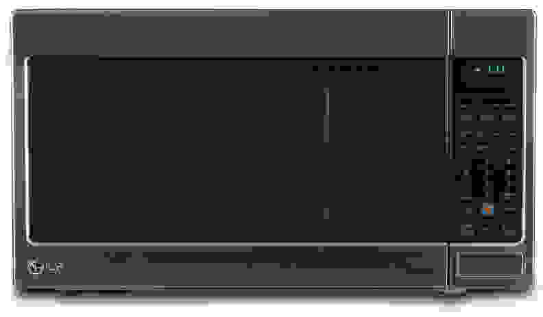 The LG LCRT2010ST countertop microwave.