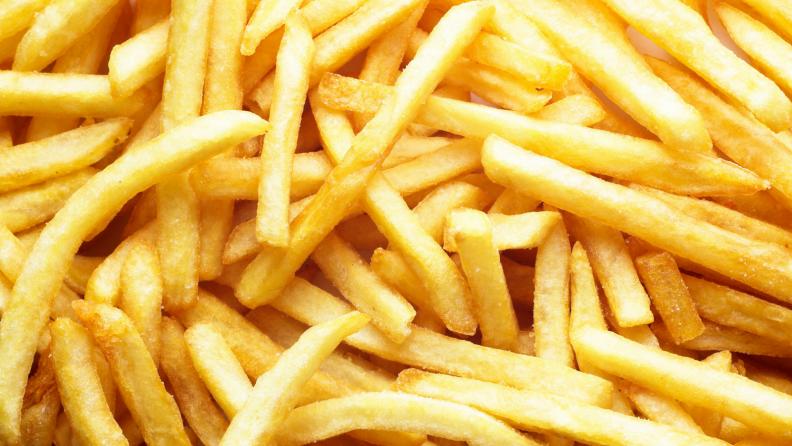 Fry tray