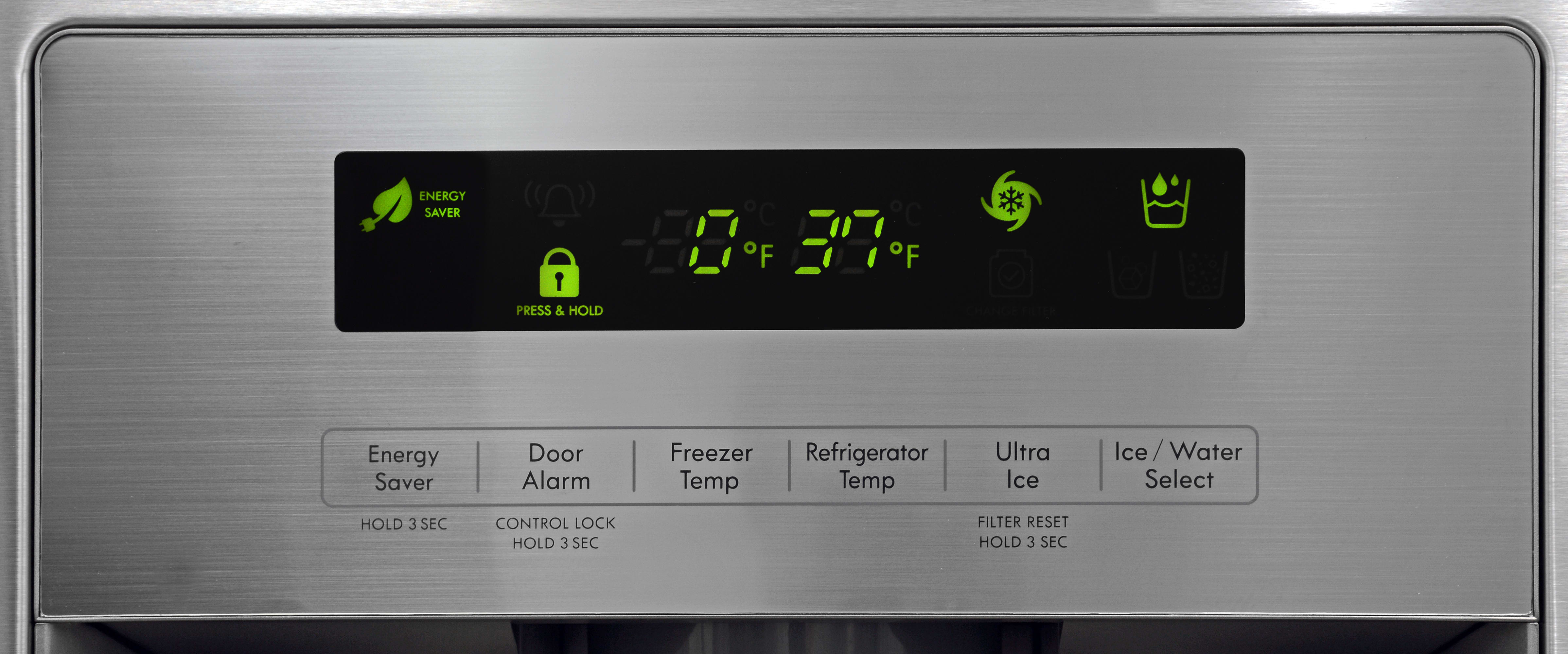 The Kenmore 70333's boxy controls may not be overly attractive, but they're responsive enough.