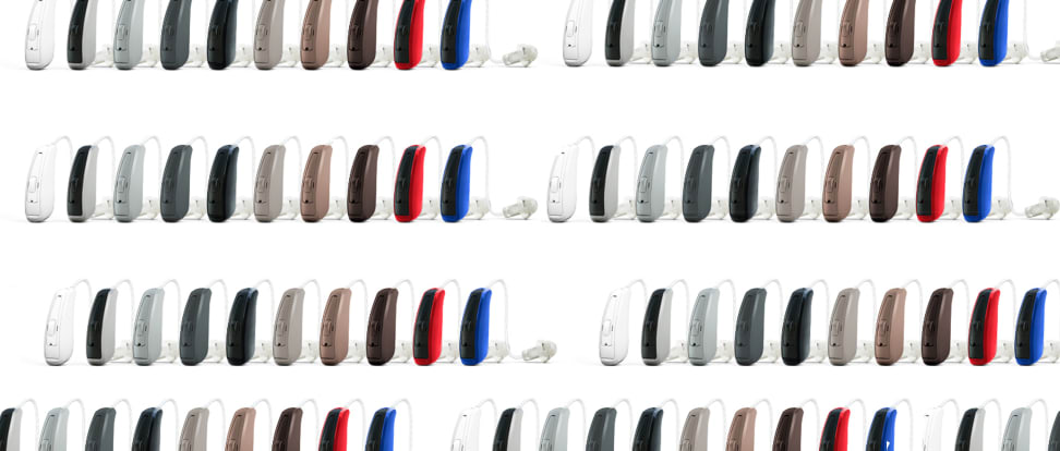 The GN ReSound LiNX hearing aid, designed in collaboration with Apple.
