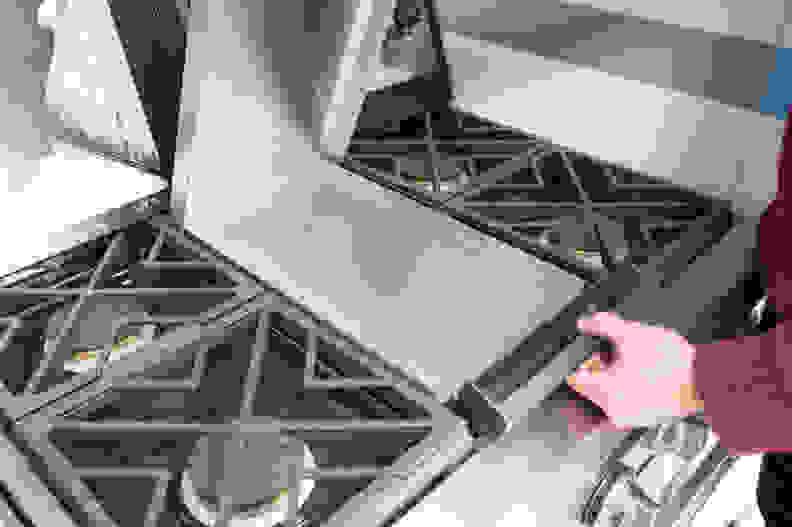 GE Monogram ZDP364NDPSS griddle