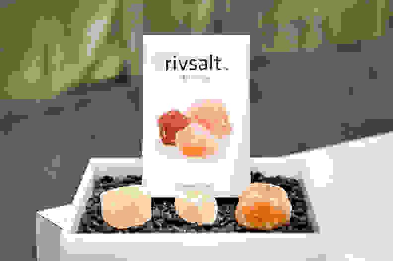 Himalayan salt rocks
