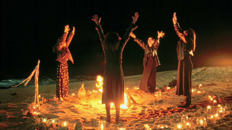 Teens worship an ancient nature deity called Manon in 'The Craft.'