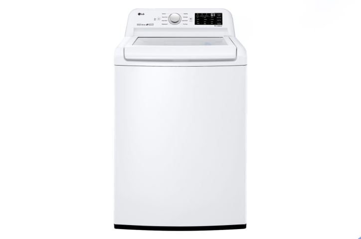 How Much Water Does A Washing Machine Use >> Lg Wt7100cw Top Load Washing Machine Review Reviewed Laundry