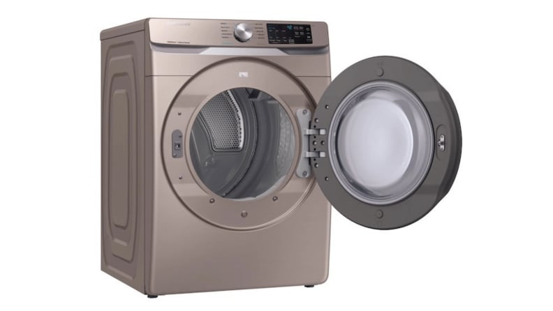 Samsung-DVE45R6100-dryer-open