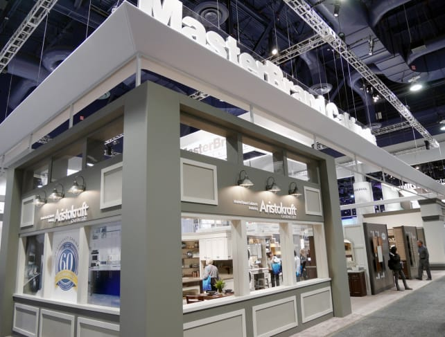 MasterBrand Booth at KBIS 2014