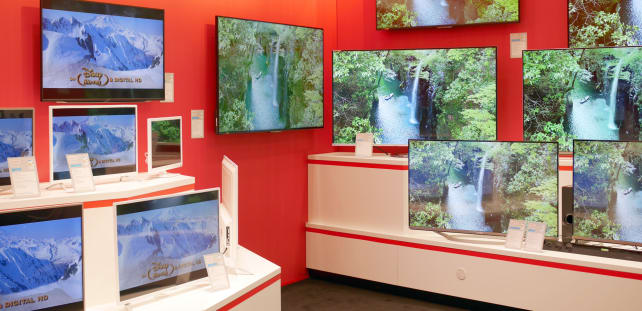 Sharp's 2015 line-up of TVs for Europe