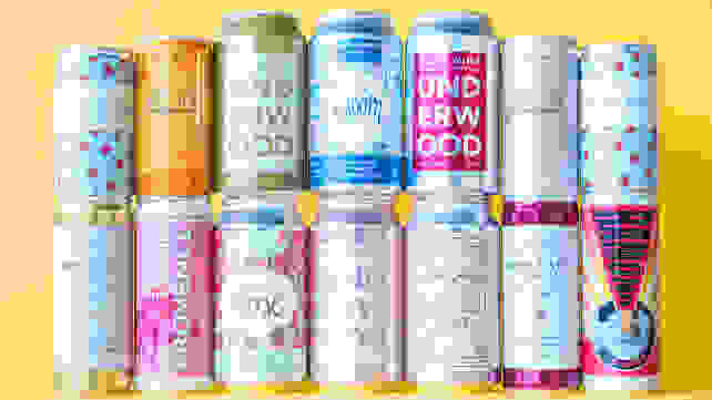 All the wine cans