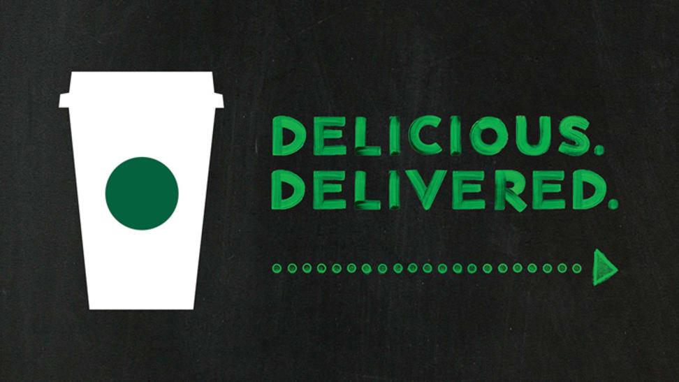 Starbucks Delivery Logo