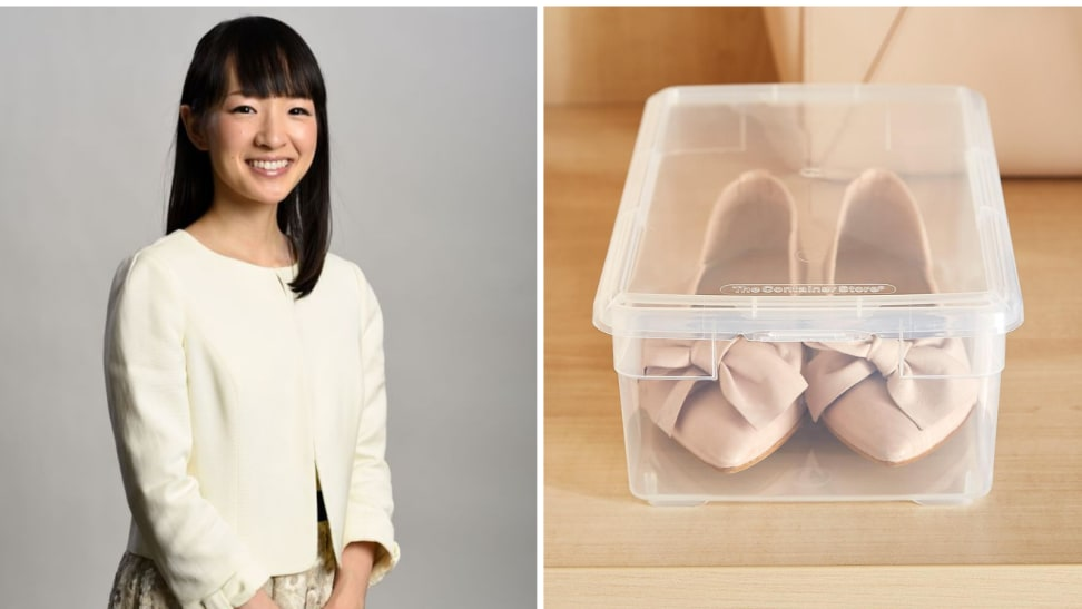 Author and organizer Marie Kondo is obsessed with all the things you can do with a shoe box