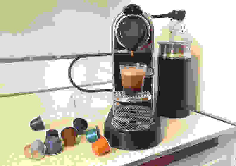 The Nespresso Citiz and Milk in testing