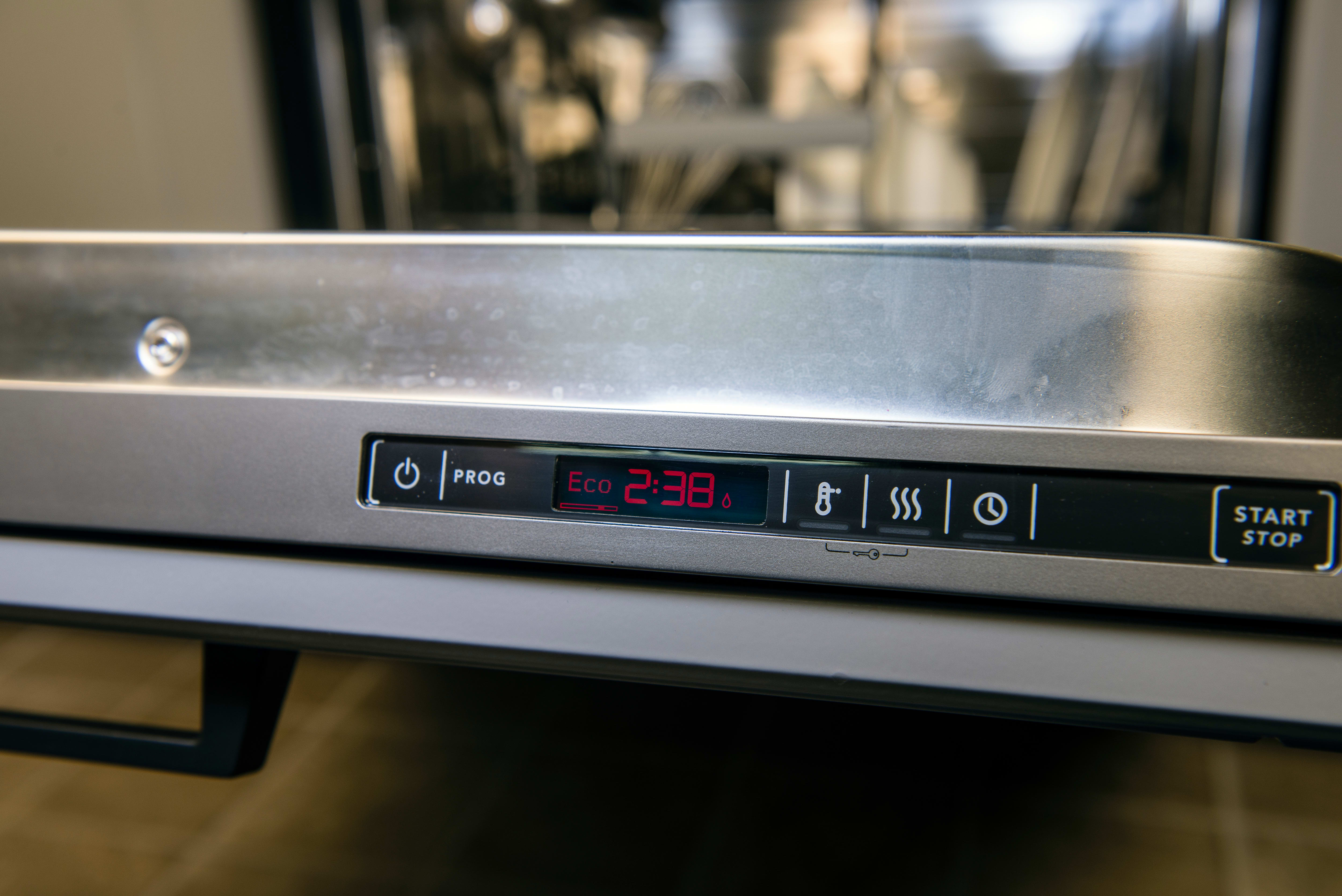 Asko D5534XXLFI control panel