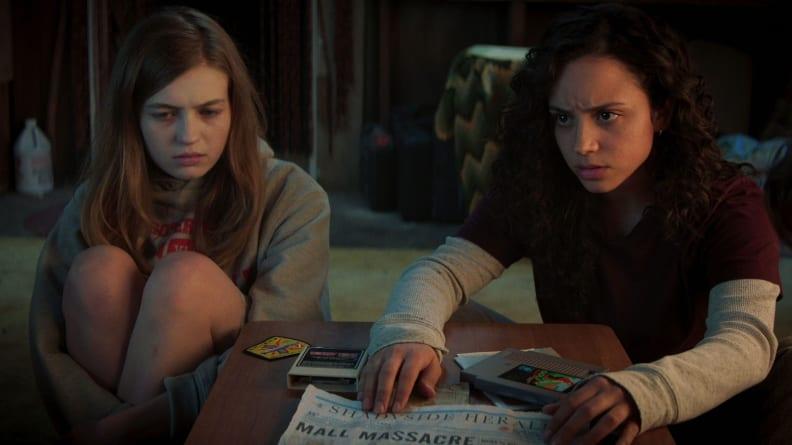 Olivia Scott Welch and Kiana Madeira star in Netflix's 'Fear Street.'