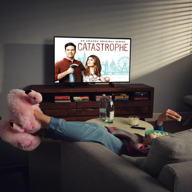 Amazon Fire TV playing Catastrophe