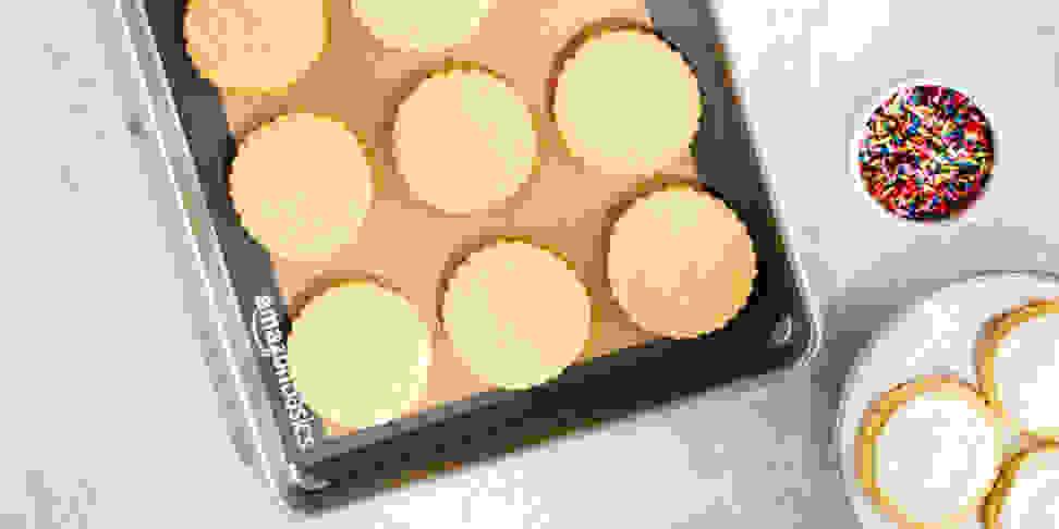 AmazonBasics brand silicone baking mat