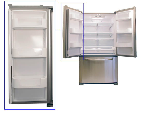 Maytag Mff2558vem 24 8 Cu Ft French Door Refrigerator