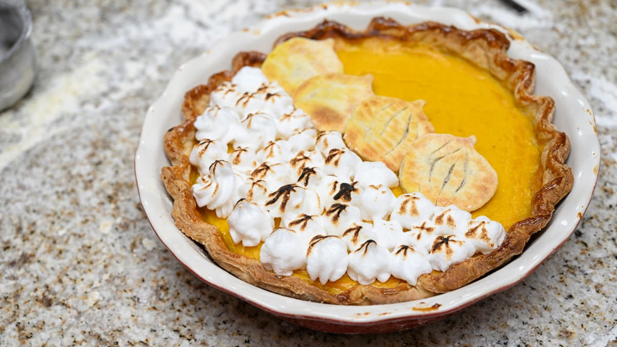The secret to making the perfect pumpkin pie for Thanksgiving