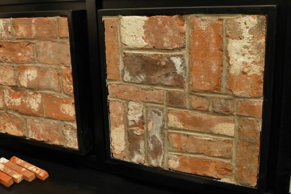 Various brick layout options