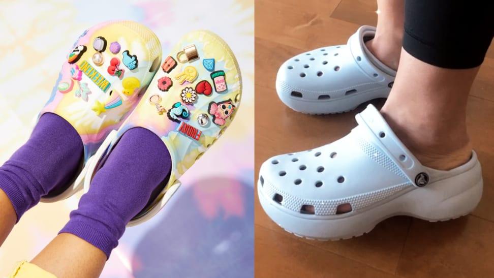 Platform Crocs