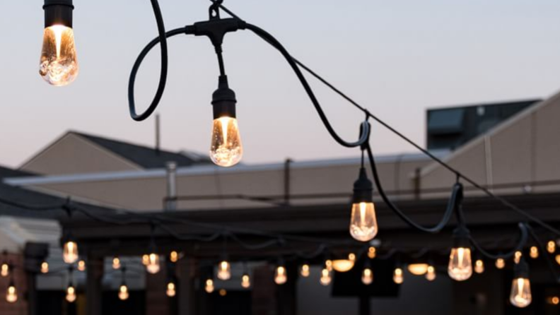 Indoor/Outdoor LED String Lights from Pottery Barn