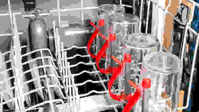 GE GDF630PSMSS Dishwasher — Bottle Jets
