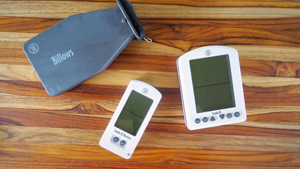 ThermoWorks Smoke X Probe Thermometer and Billows BBQ Temp Control Fan