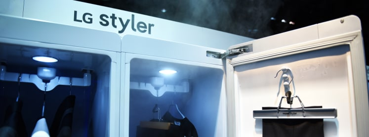 New LG Styler Steam Closet Will Keep You Looking Good