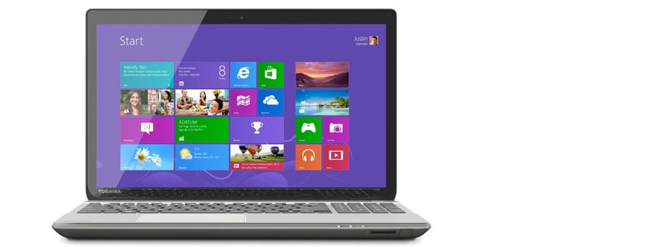 Toshiba P50t 4K laptop