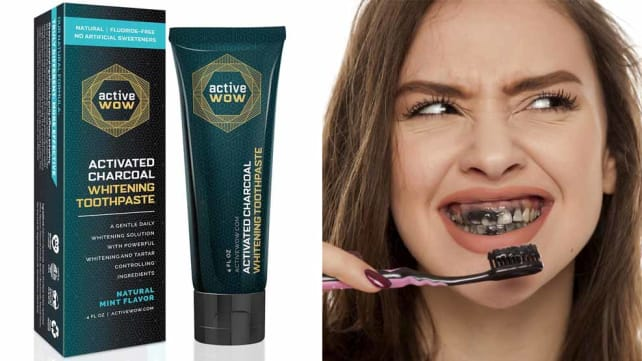 ActiveWow Charcoal Toothpaste