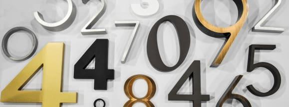 House numbers hero