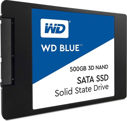 Product Image - Western Digital Blue 3D NAND SATA SSD - 500GB