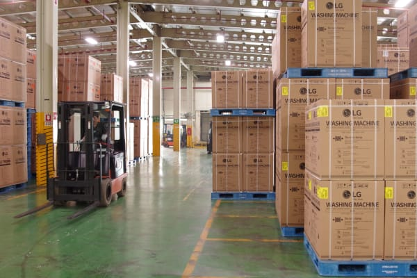 LG Changwon Factory Shipping