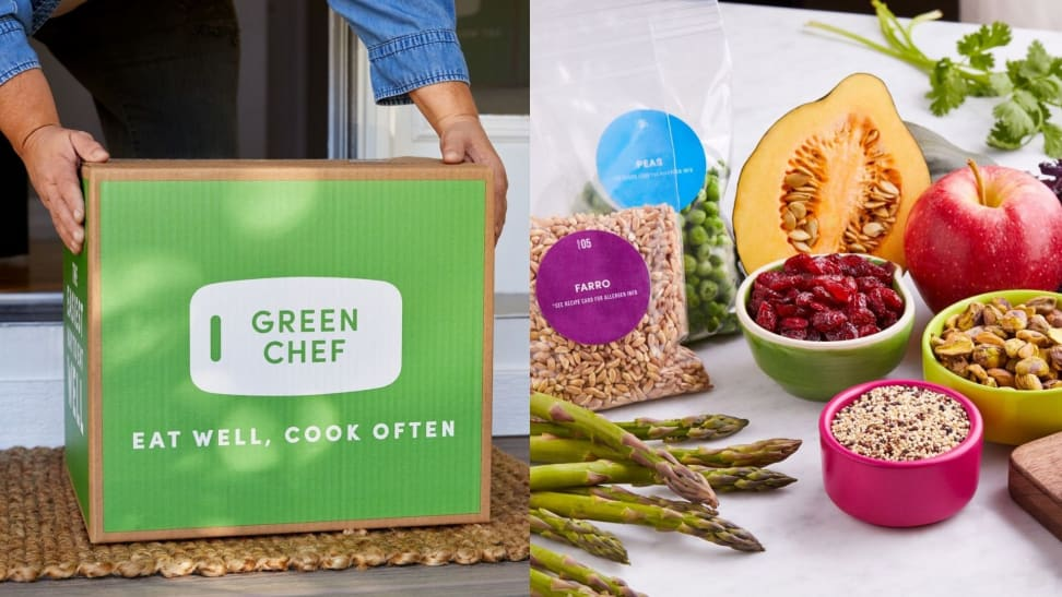 Green Chef's Plant-Powered meals are perfect for vegetarians and vegans.