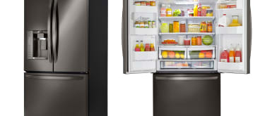 Lg lfx25973d french door refrigerator review   her