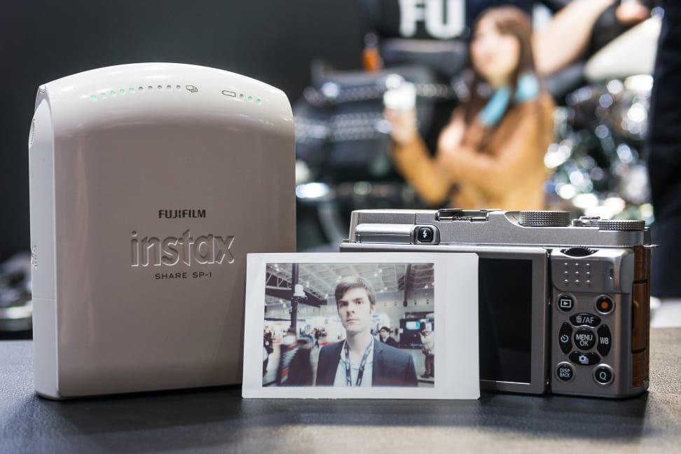 Fujifilm X-A2 – Instax Share Results