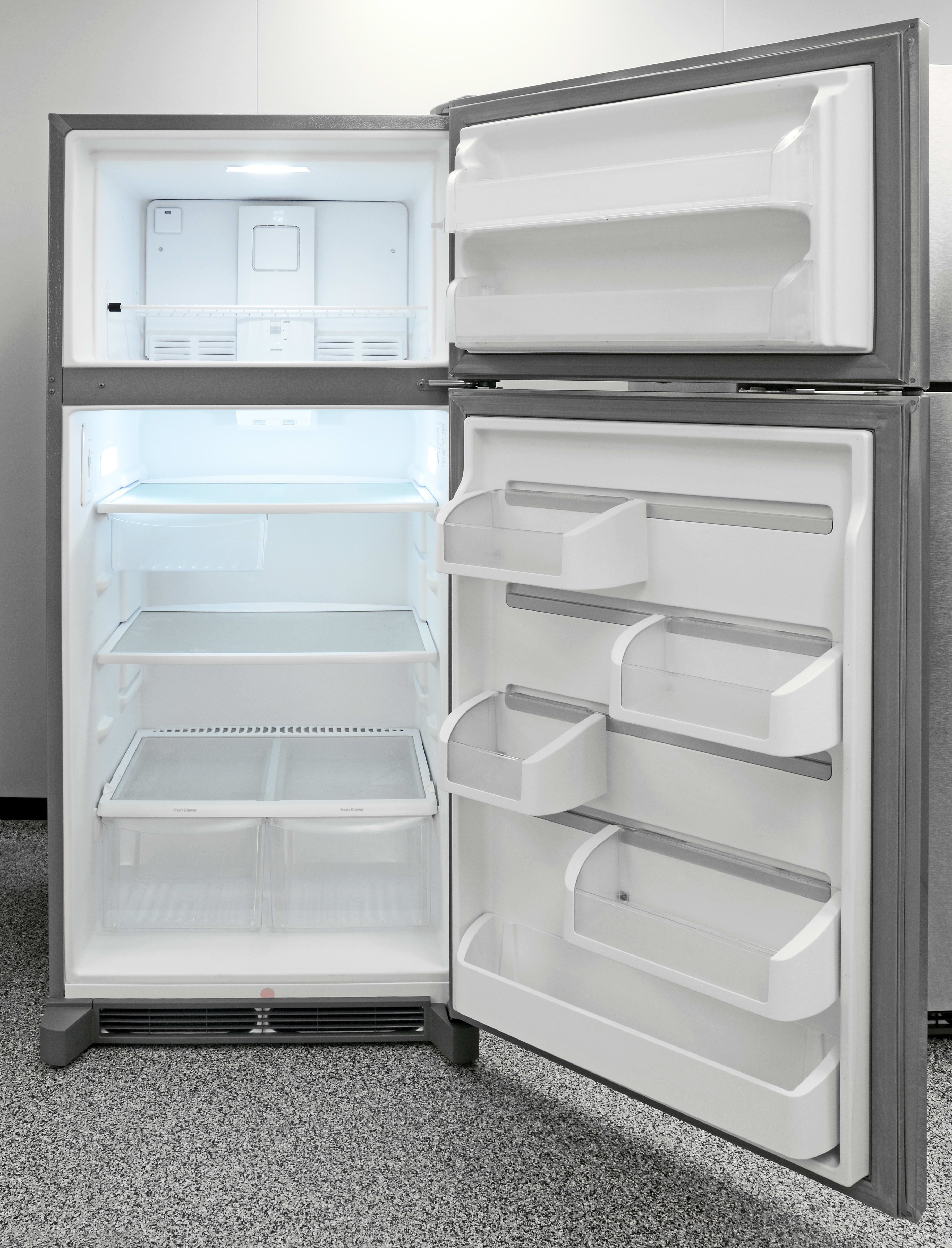 The Frigidaire Gallery FGTR1845QF is an excellent fridge overall, both in terms of style and cooling performance.