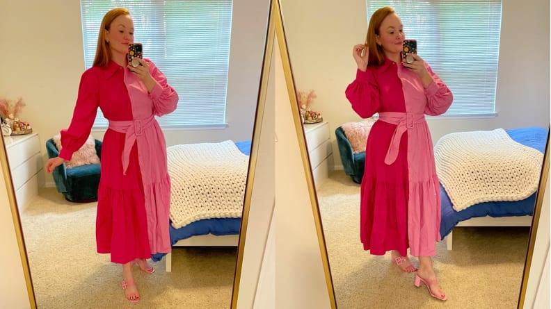 Christopher John Rogers Pink Dress
