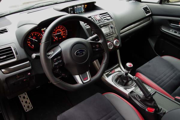 2015 Subaru WRX STI alcantara seats