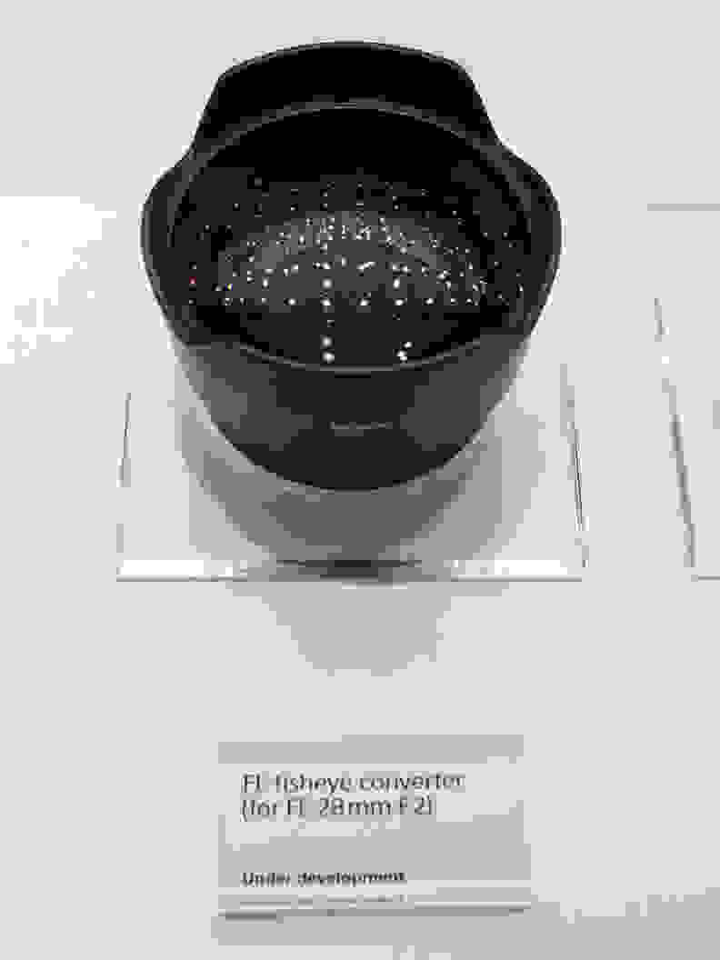 FE 28mm f/2 –Fisheye Converter